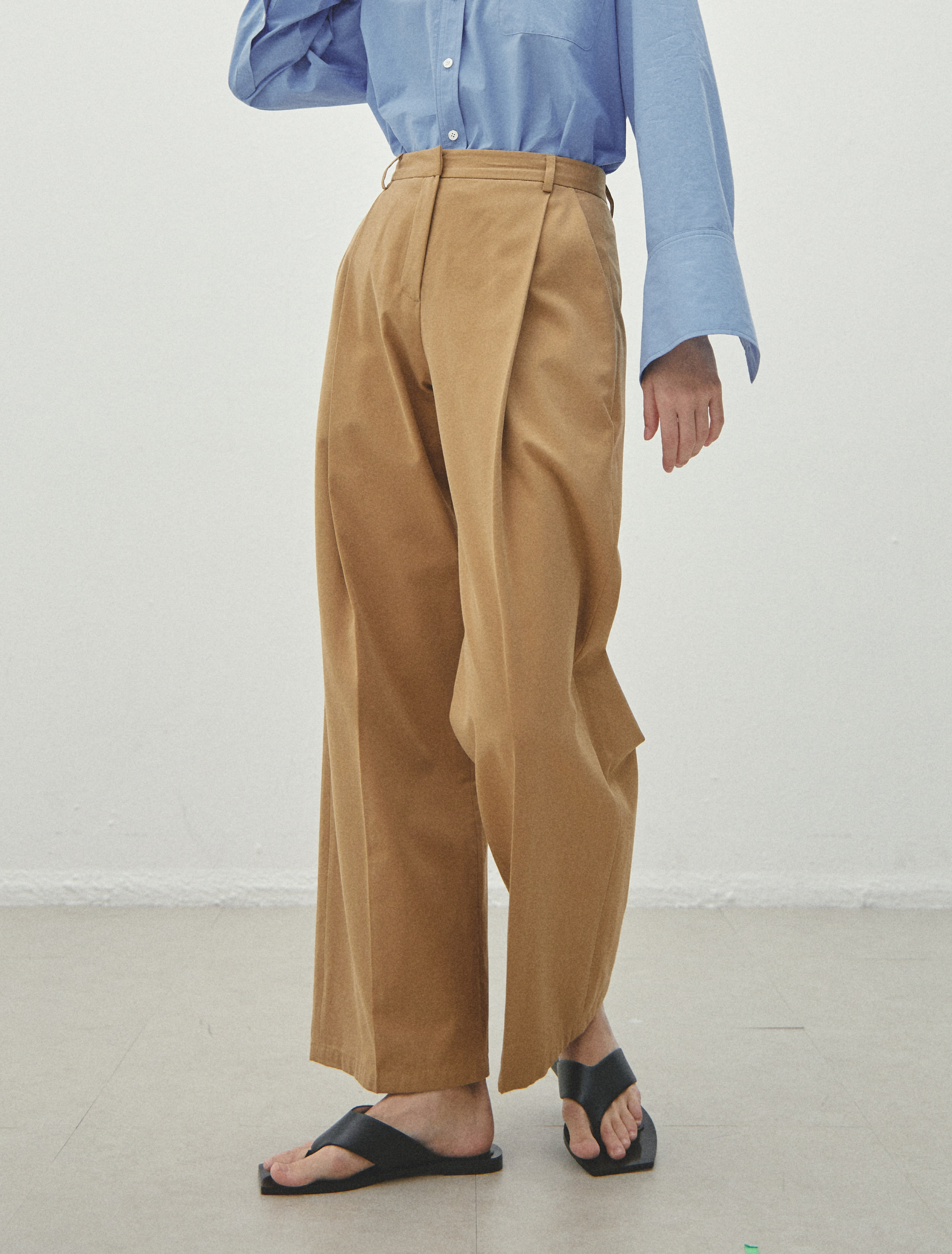 2nd REORDER ·  Camel Trousers