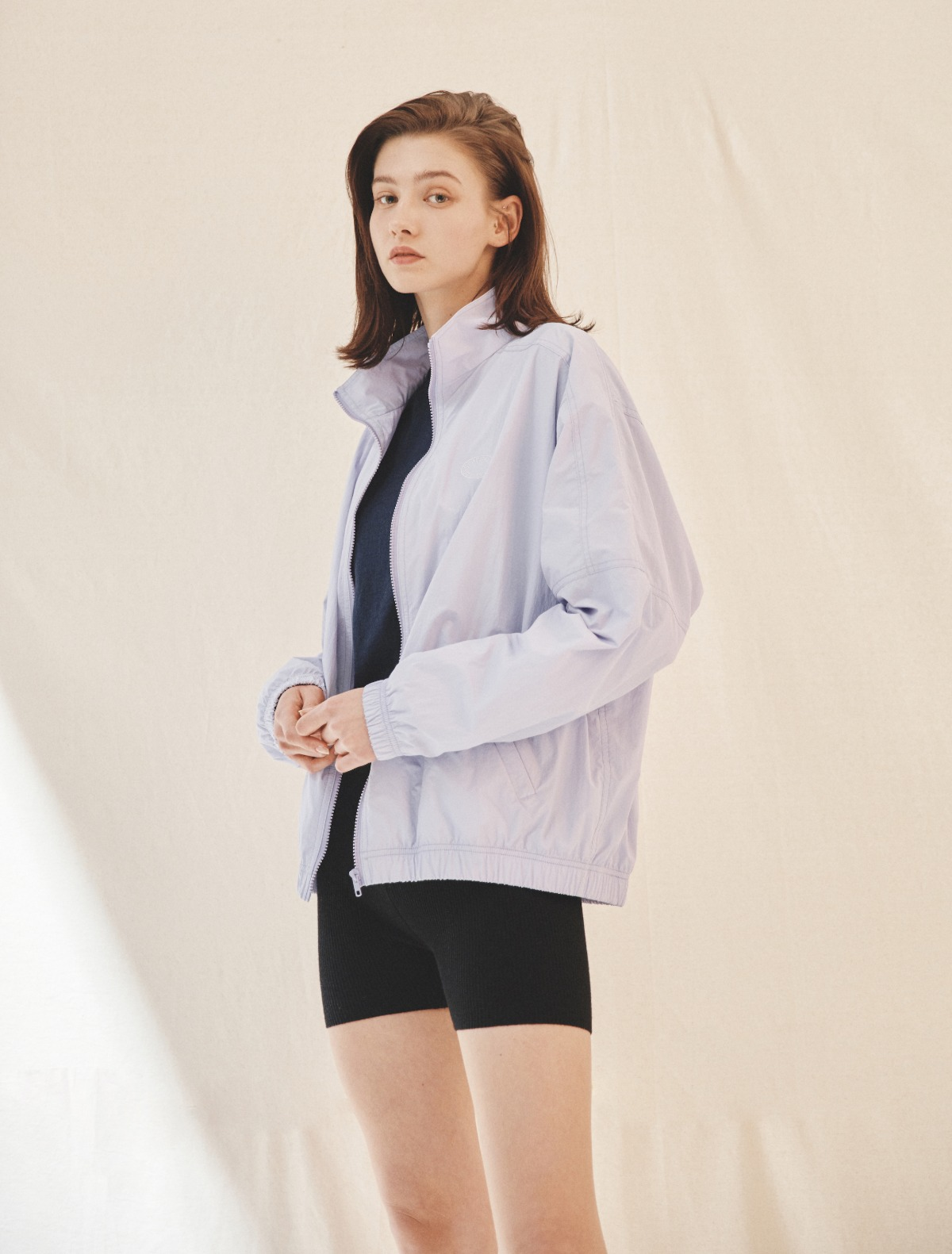 2nd REORDER · Lightweight Windbreaker Jacket (Purple)